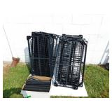 Plastic Shelving Unit--10 Shelves