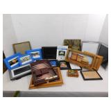Lot of Picture Frames--Various Sizes