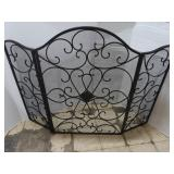 "Decorative Fireplace Screen (50""W x 37""H)"