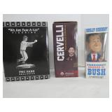 George W Bush, Cervelli, Phil Garner Figurines