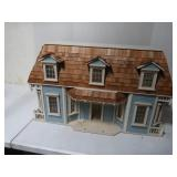"Wooden Doll House (32""W x 19""H x 14""D)"