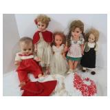 "Lot of Vintage Dolls (approx 16"" tall)"