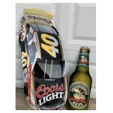 "2 Metal Advertising Signs--Coors Light 34"" Long,"