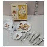 Lil urchins Oneida dinnerware for Young folks set