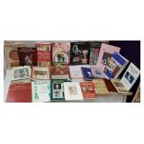 Box of collectibles books