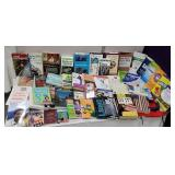 Large box of miscellaneous books including