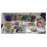 Box of miscellaneous comic books