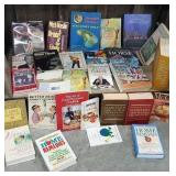Cart #.35a. - bottom row only miscellaneous books