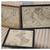 3 maps