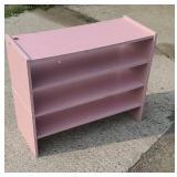 2pc pink shelf