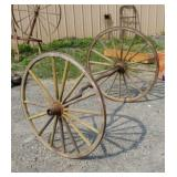 Buggy wheels and axle