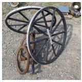 Pile of wheels