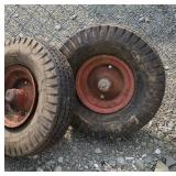 Pair of wheels