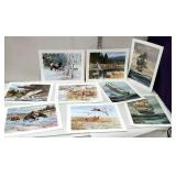 Unframed Wildlife & ship prints