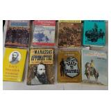 8 books of mostly about the civil war