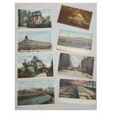 Postcards - Endicott Johnson, lake Street Owego,
