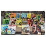 Box of outdoor sports magazines includes sports a