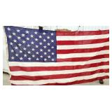 Valley forge American flag with sewn Stars
