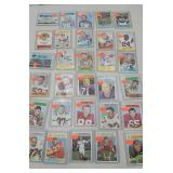 Group of 30 football cards