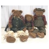 Friends from Fredrick bear family