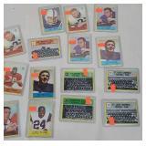 15 football cards