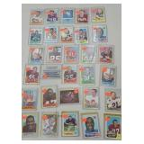 30 football cards