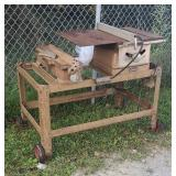Early craftsman table saw and joint planner
