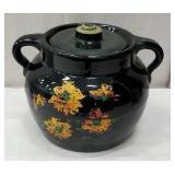nice Large size stoneware bean pot