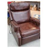 Massage/heating recliner - clean & works