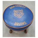 Northwest bruins footstool