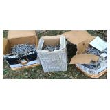 3 boxes of stainless siding nails