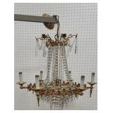 Handing chandelier - missing some finials