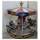 Light up mechanical carousel horse  Might need