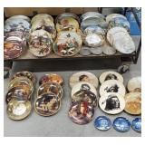 2 large boxes of collector plates including