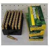3 full boxes Remington 250 savage