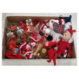 Box Christmas including elf