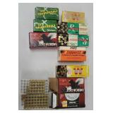 7 full boxes 3 partial 22lr ammo 	 NO