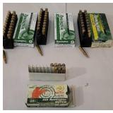3 full boxes and partial 223 Remington