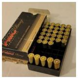 5 rounds 44 remington mag plus brass
