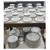 Large set of dinnerware service for 14 plus