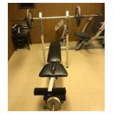 Omega 5.0 home gym - Log Press, Flys, Pull Downs,
