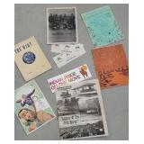 Box of fairly local ephemera including Waverly