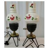 Pair of retro table lamps