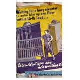Group of wartime posters - Factories and