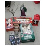 Box of Christmas includes battery light sets,