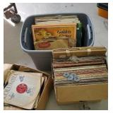 3 boxes of records including great victrola