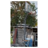 Heavy base basketball hoop