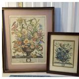 2 botanical prints