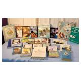 Box books & CDs - the mermaid, national velvet,