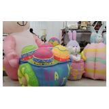 4 Easter yard blow-ups
